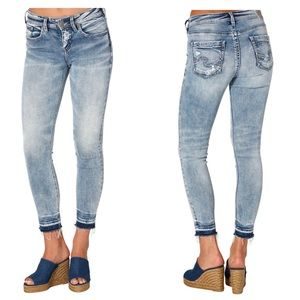 Silver Jeans Ankle skinny 30